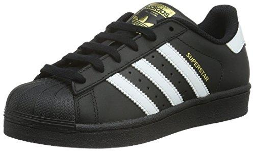 Adidas Superstar Foundation, Zapatillas Unisex Infantil, Multicolor (Core Black/Ftwr White/Core Black), 37 1/3 EU