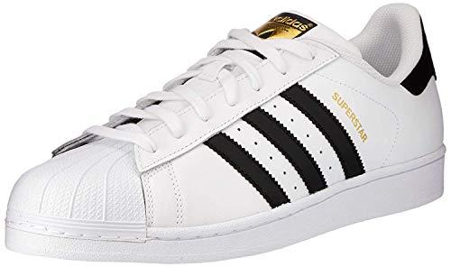 adidas Superstar - Zapatillas de deporte infantiles unisex, color Blanco (Ftwr White/Core Black/Ftwr White), talla 39 1/3