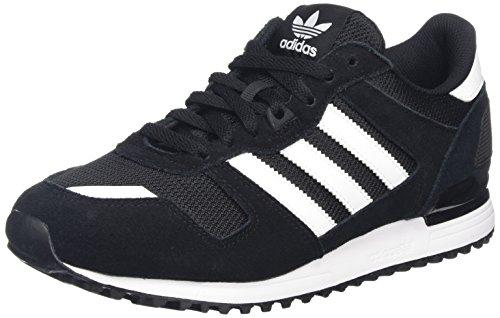 reputable site b9086 f97e7 Adidas ZX 700, Zapatillas de Deporte para Hombre, Negro Ftwbla Negbas, 43  1 3 EU