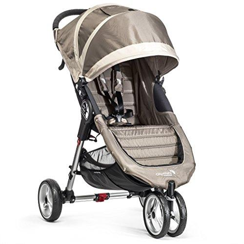 Baby Jogger City Mini 3 - Silla de paseo, color arena/piedra