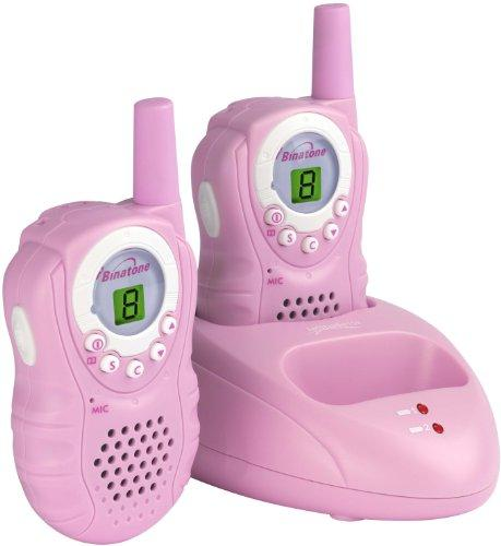 Binatone Latitude 150 - Walkie Talkies, color rosa [Importado de Reino Unido]