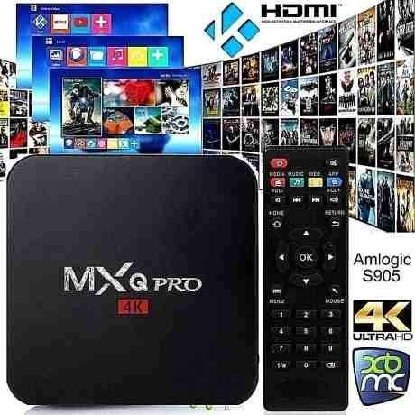 Bqeel MXQ Pro Android Box Amlogic S905 Chipset Quad Core 1G / 8G con WiFi Android 5.1 OS Lollipop 4K Smart box