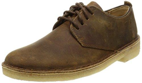 Clarks Originals Desert London  - Zapatos con cordones Derby para hombre, Beeswax, 45