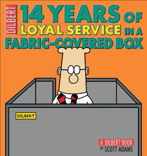 DILBERT 14 YEARS LOYAL SERVICE (Dilbert Book)