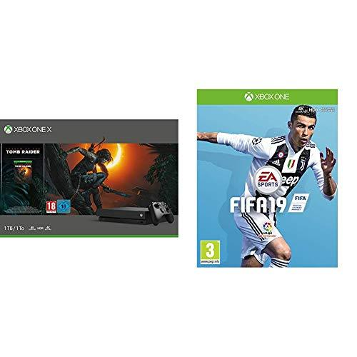 FIFA 19 + Xbox One X - Consola 1 TB + Shadow Of The Tomb Raider