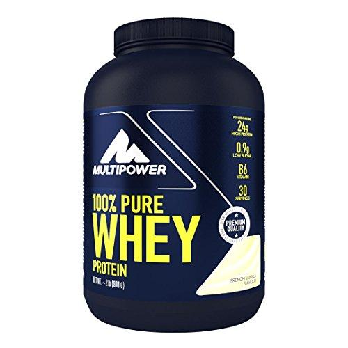 Multipower 100% Whey Protein French Vanilla - 900 gr