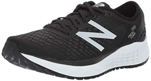 New Balance Fresh Foam 1080v9, Zapatillas de Running para Hombre, Negro (Black/White), 41.5 EU