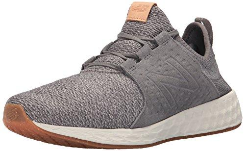 New Balance Fresh Foam Cruz, Zapatillas Deportivas para Interior para Hombre, Gris (Grey/White), 42 EU