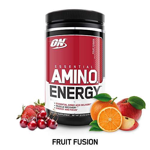 Optimum Nutrition Amino Energy, Fusión de Frutas (Sabor natural y artificial) - 270 gr
