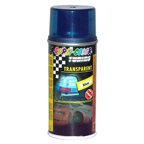 Dupli Color 648892 Spray de Tuning y Pintura Universal, Color Transparente Azul, 150 ml, 6