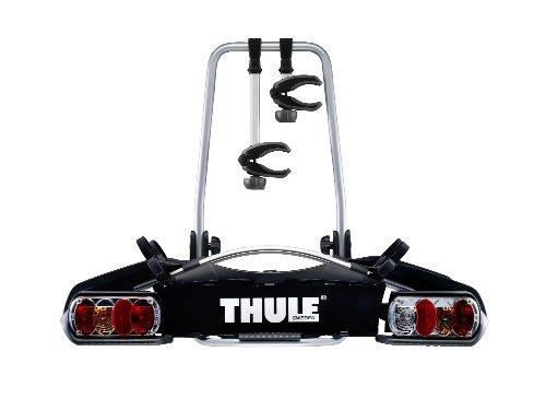 Thule EuroWay G2 920 Bicycle Carrier Negro, Plata - Car Roofs & Rack Carries (Bicycle Carrier, 46 kg, Negro, Plata, 24 kg, 13-Pin, 550 mm)