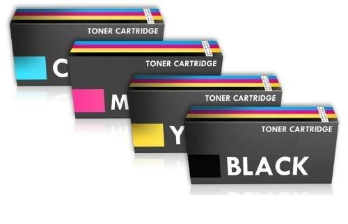 Prestige Cartridge TN241 TN245 Pack de 4 cartuchos de tóner láser, colores tricolor y negro