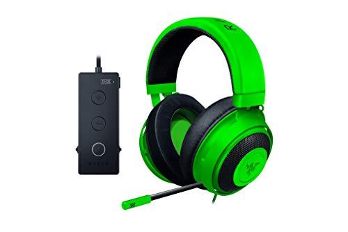 Razer Kraken Tournament Edition - Auriculares para juegos, con cable para deportes, con control total de audio y THX Spatial Sound