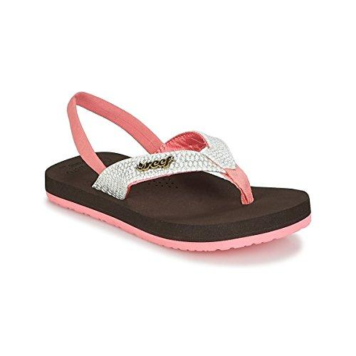 Reef Little Cushion Sassy, Zapatos de Primeros Pasos para Bebés