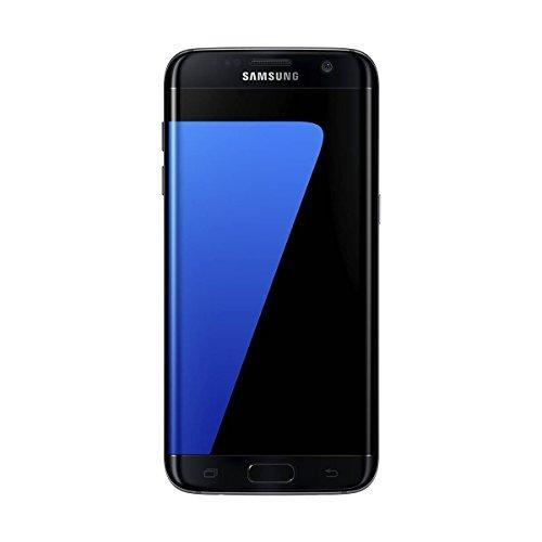 "Samsung Galaxy S7 Edge - Smartphone libre de 5.5"" QHD (4 G, Bluetooth, Octa-Core de 2.3 GHz, 32 GB memoria interna, 4 GB RAM, pantalla dual Edge Super Amoled, cámara de 12 MP, Android 6.0), color Negro"