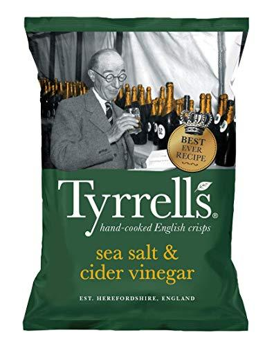 Tyrrells Sea Salt & Cider Vinegar Crisp 150 g (order 12 for trade outer)
