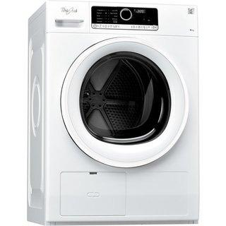 Whirlpool HSCX 80313, Secadora con Independiente Carga frontal A+, 6th SENSE , 8 kg, 65 dB, 12 h, Blanco