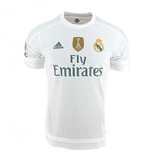 52a2bfc869238 adidas 1ª Equipación Real Madrid CF 2015 2016 - Camiseta oficial con la  insignia de