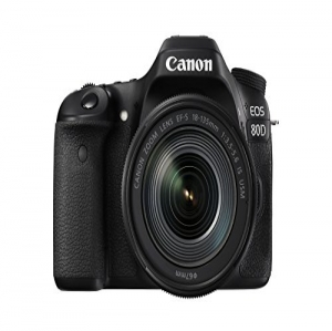 Canon EOS 80D + EF-S 18-135 IS USM 24.2MP CMOS 600...