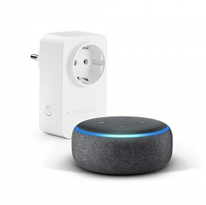 Echo Dot (3.ª generación), tela de color antraci...