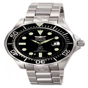 7335b6c87c15 Invicta 3044 Pro Diver Reloj para Hombre acero inoxidable Automático Esfera  negro