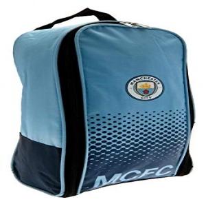 Manchester City FC botas de fútbol bolsa oficial del club azul mercancía 702188308cab9
