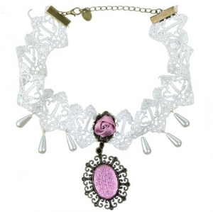 niceeshop(TM) Collar Falso De La Princesa de Acces...
