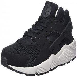 new arrivals 7b56c 5b111 Nike Air Huarache Run, Zapatillas de Entrenamiento para Hombre, Negro Pure  Platinum-Black