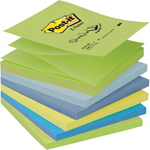 Post-it Pack 6 Blocs Notes Z-Notes Colores Fantas�...