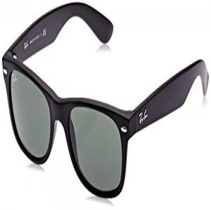 0d09cab2ff Ray-Ban New Wayfarer, Gafas de Sol Unisex adulto, Negro (Matte Black