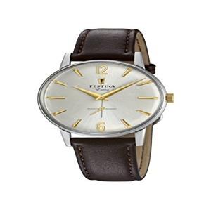 963ceee886c4 Festina Reloj Análogo clásico para Hombre de Cuarzo con Correa en Cuero  F20248 2
