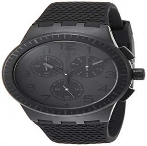 Swatch Reloj Cronógrafo para Hombre de Cuarzo con Correa en Silicona SUSB104 4f2fcd247a22