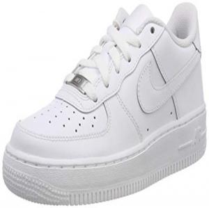 buy popular 48125 14b8c Nike Air Force 1, Zapatillas de Baloncesto Unisex Niños, Blanco (White    White