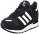 adidas ZX 700, Zapatillas de Deporte para Hombre, Negro (Negbas / Ftwbla / Negbas), 43 1/3 EU