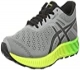 Asics Fuzex Lyte, Zapatillas de Running Para Hombre, Gris (Aluminum/Black/Safety Yellow), 45 EU