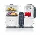 Babymoov Nutribaby+ A001117 - Procesador de alimentos para bebés, cocción al vapor y batidora color blanco
