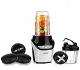 Batidora de Vaso 1000W?BESTEK Licuadora Acero Inoxidable Picar Hielo con 2 Velocidades, 1L Vaso, Libre de BPA-Color Negro