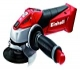 Einhell Expert 4431110 Radial angular sin cable TE-AG 18 Li Solo, hoja de sierra, 8500 rpm, color rojo y negro