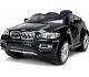 BMW X6 Black, Los niños del coche, los niños del coche eléctrico, coche niños, con asiento de cuero cosido, 2x motor, batería de 12 V, 2,4 GHz Bluetooth mando a distancia, arranque progresivo