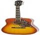 Epiphone Hummingbird PRO - Guitarras electroacústicas, color faded cherry sunburst