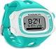Garmin Forerunner 15 HRM -  Reloj deportivo con GPS y monitor de actividad con monitor de frecuencia cardiaca, color verde azulado y blanco, talla S