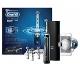 Oral-B Genius9000 - CrossAction cepillo de dientes eléctrico recargable con tecnología de Braun, 1 mango negro, 6 modos, 4 cabezales de recambio y 1 estuche de viaje con USB