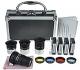 Solomark - Kit de accesorios deparatelescopio, con juego de oculares, filtros, 2lentes de Barlow