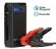 SUPERPOW Batería Arrancador de Coche 1200A,Jump Starter Batería de Emergencia Portátil con Arranque Kit, LED, USB Puertos (Puede Alimentar el Coche hasta 5.5L de Diesel o 7.0L de Gasolina)