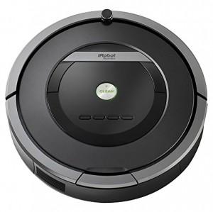 iRobot Roomba 871 - Robot aspirador, rendimiento de limpieza avanzado, programable, para el pelo de mascotas, gris