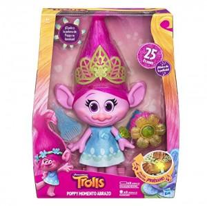TROLLS - Poppy momento abrazo trolls (Hasbro B6568105)