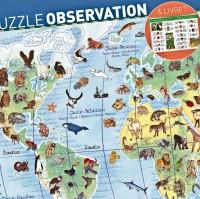 Puzzle Observacion los animales del mundo