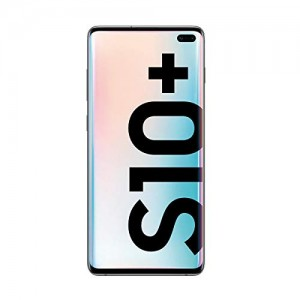 "Samsung Galaxy S10+ - Smartphone de 6.4"" QHD+ Curved Dynamic AMOLED, 16 MP, Exynos 9820, Wireless & Fast & Reverse Charging, 512 GB, Prisma Blanco (Prism White)"