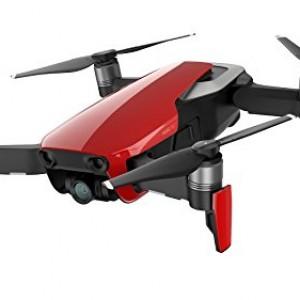 DJI Mavic Air Fly More Combo - Dron con cámara para Grabar Videos 4K a 100 MB/s y Fotos HDR, 8 GB de Almacenamiento Interno, Rojo