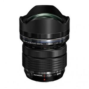Olympus M.Zuiko Digital ED 7 ? 14 mm 1:2.8 Pro - Objetivo (Gran Angular, diseño Compacto y Ligero), Color Negro